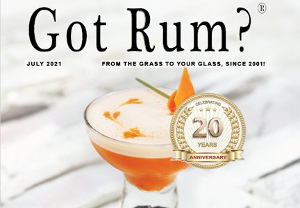 """""""Got Rum?"""" July 2021 Featured Story"""