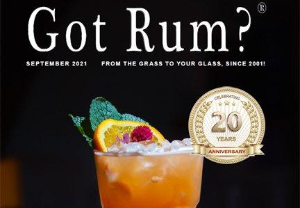 """""""Got Rum?"""" September 2021 Featured Article"""