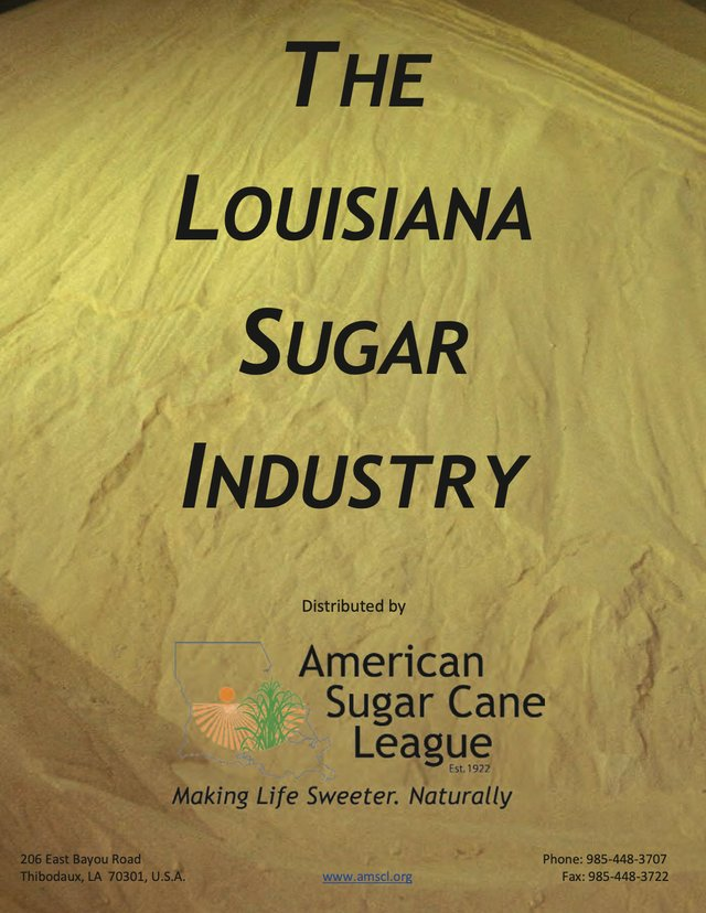 The Louisiana Sugar Industry