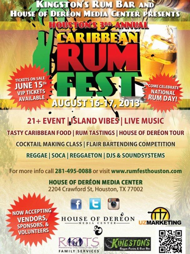 Houston's 3rd Annual Caribbean Rum Fest