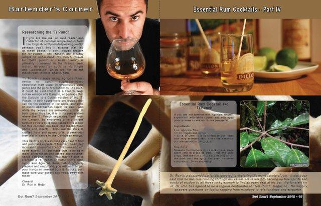 Essential Rum Cocktail #4: 'Ti Punch