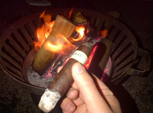 Cigar by Camp Fire.jpg