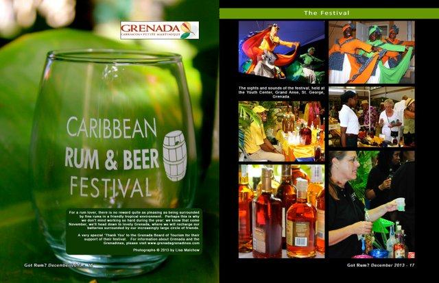 2013 Caribbean Rum & Beer Festival- Grenada