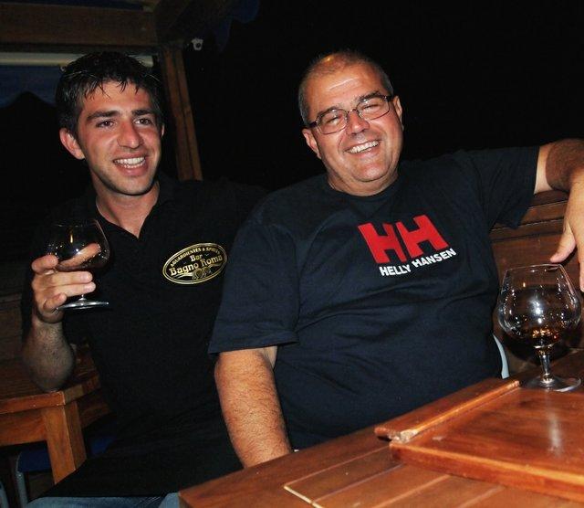Marco Pierini and Francesco Rufini