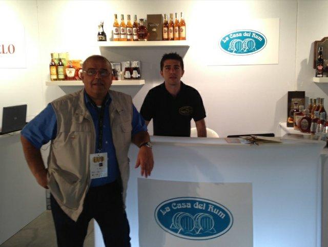 La Casa del Rum Booth in Italy