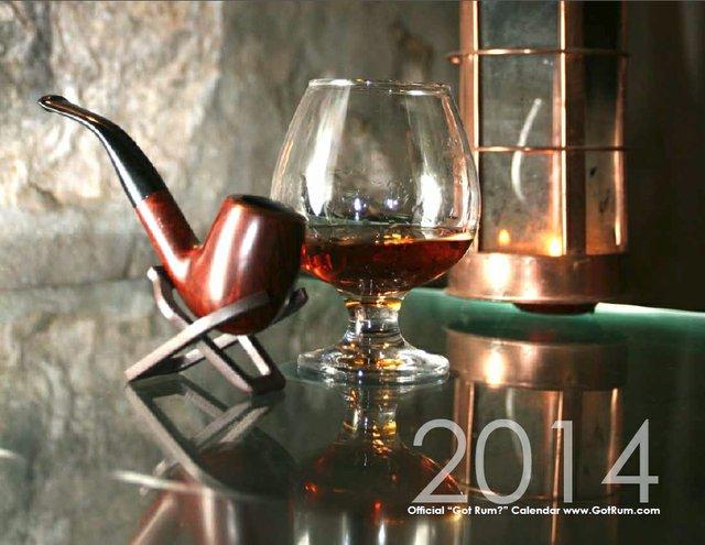 """2014 """"Got Rum?"""" Calendar"""