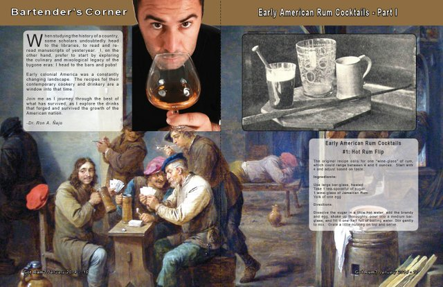 Early American Rum Cocktails- Part I