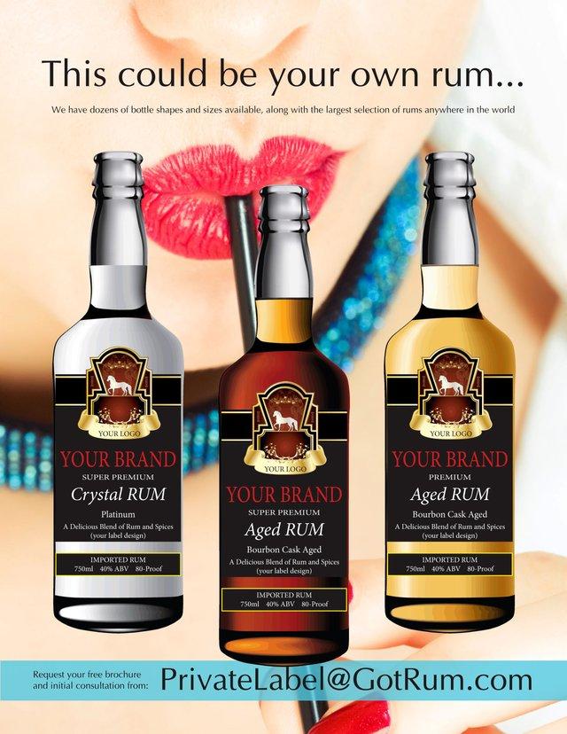 Private Label Rum