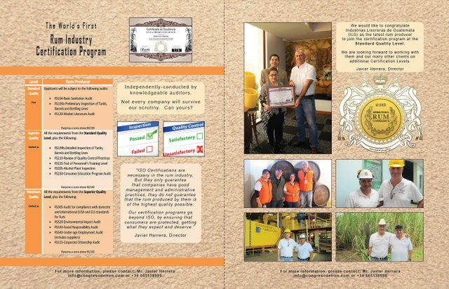 Rum Industry Certification Program