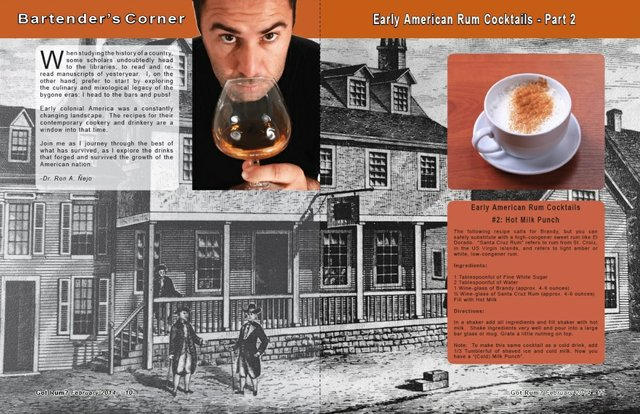 Early American Rum Cocktails- Part 2