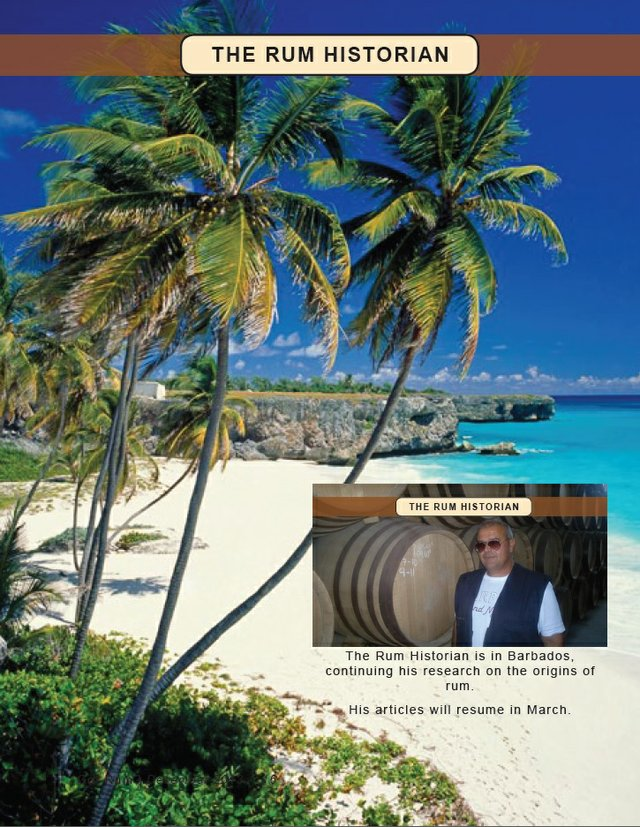 Rum Historian in Barbados on his quest
