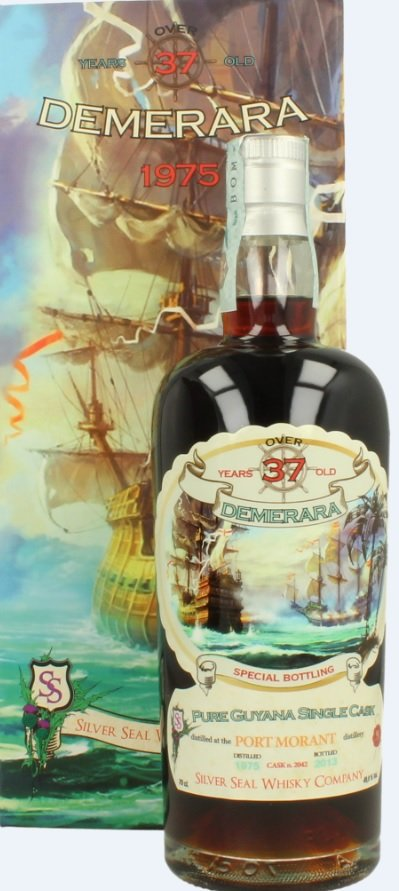 Rum Bottle from the Collection of Massimo Righi