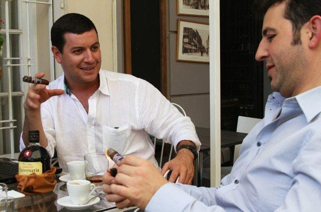 Philip Ili Barake and David Pérez