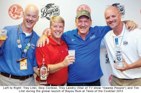 Owners of Louisiana Spirits with Troy Landry