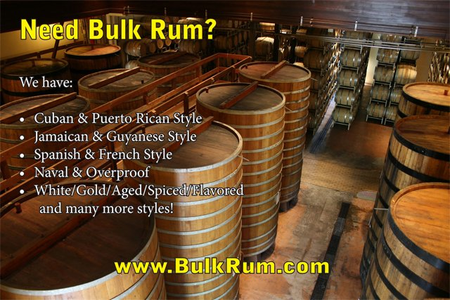 Do you need bulk rum?