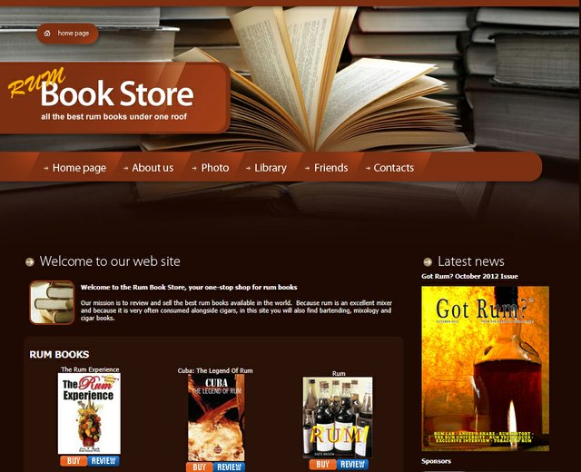 Buy Rum Books Online