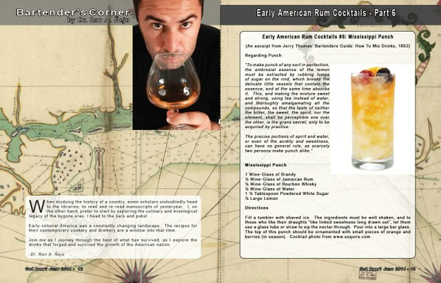 Early American Cocktails Part 6