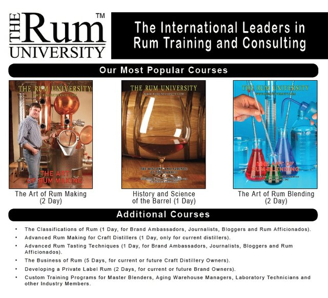 Rum University Courses - 2014