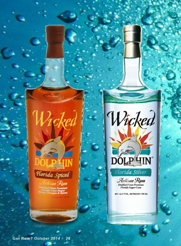 Wicked Dolphin Rums