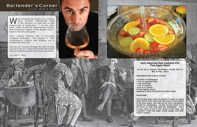 Bartender's Corner: Early American Rum Cocktails - Part 10