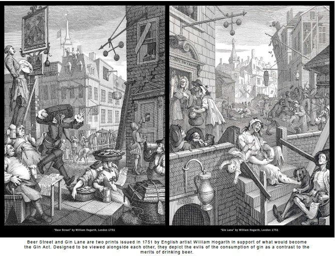Rum and Wellness in XVIII Century Britain