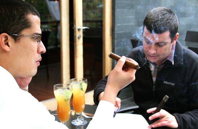 Philip with Luis Felipe Cruz