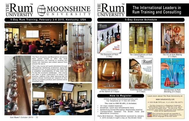 5-Day Rum Training in Louisville, KY