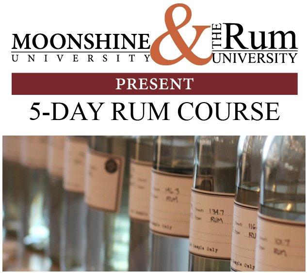 Rum University and Moonshine University 2015 Course