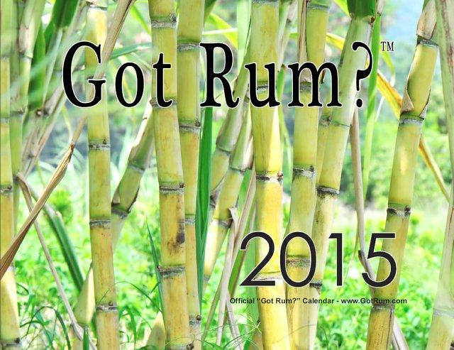 """""""Got Rum?"""" 2015 Calendar"""