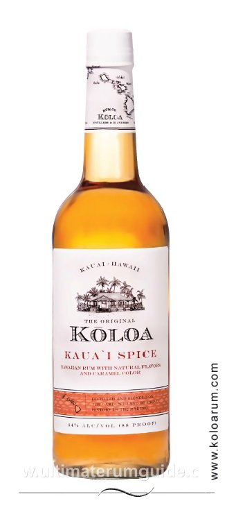 Koloa Kaua'i Spice Rum
