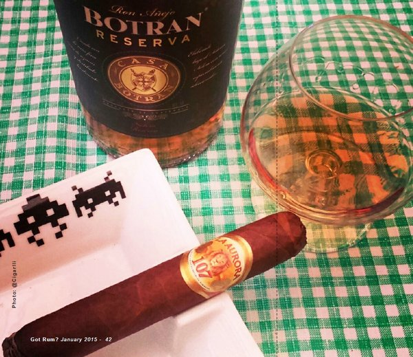 January 2014 Cigar & Rum Pairing
