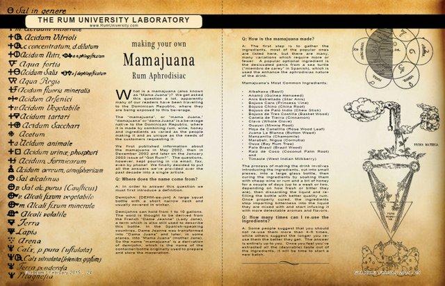 Making Your Own Mamajuana Rum Aphrodisiac