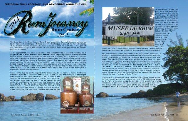 Rum Journey's 2014 Rum Cruise, Part 2- by Paul Senft