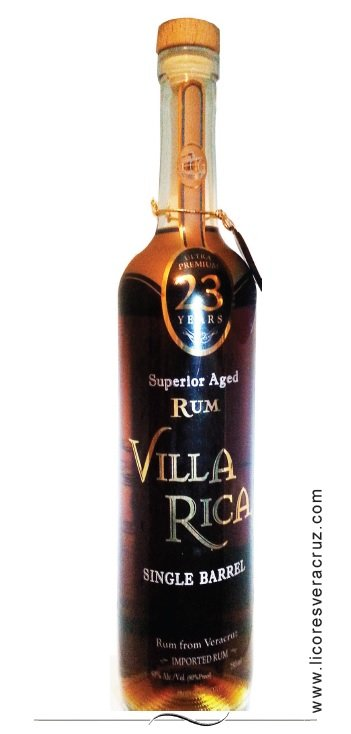 Villa Rica Single Barrel 23 Year Rum