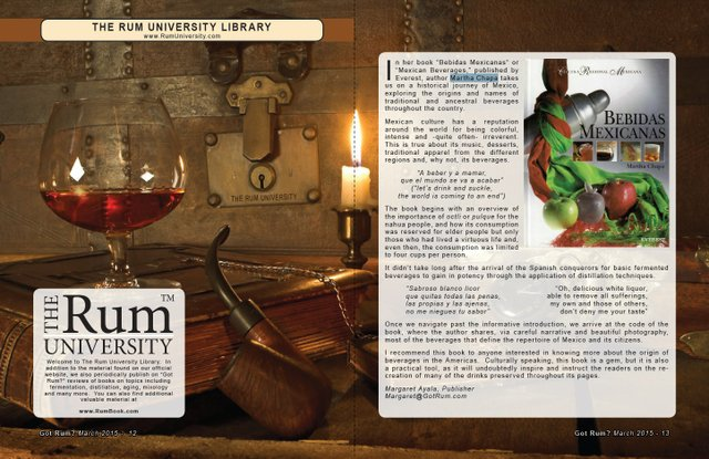 "The Rum University Library: Book Review of ""Bebidas Mexicanas"""