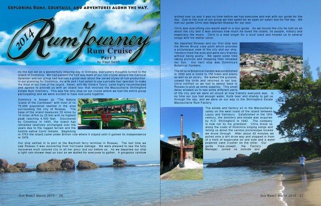 Rum Journey's 2014 Rum Cruise, Part 3- by Paul Senft
