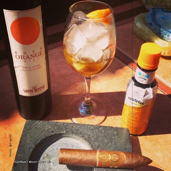CIGAR & RUM PAIRING: An Orange Summer