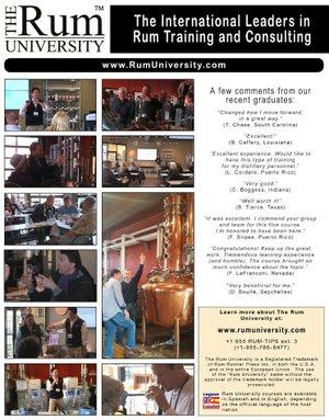 Rum University Training