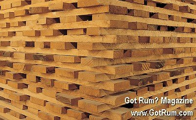 Planks of wood air drying
