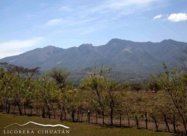 View of Mountain in El Salvador