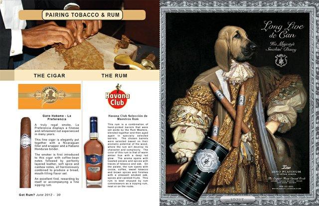 June 2012 Tobacco & Rum