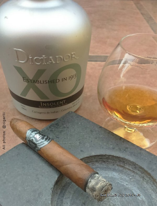 July 2015 Cigar and Rum Pairing