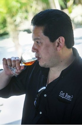 "Luis Ayala, Editor of ""Got Rum?"" magazine"