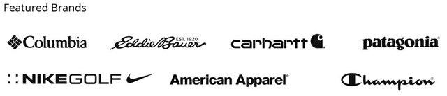 The Rum University Apparel Store, Featured Brands